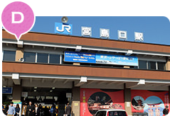 D JR Miyajima guchi Station